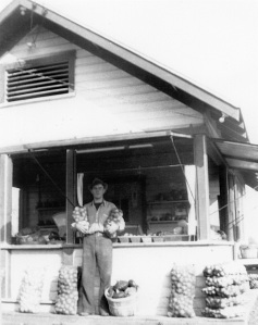 Ray Gesell in front of the OTM.